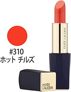 Estee Lauder Pure Color Envy Hi-Lustre Light Sculpting Lipstick - # 310 Hot Chills Lipstick For Women 0.12 oz