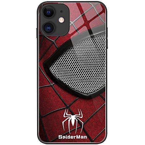 XYHS Ironman Marvel Avengers - Carcasa para iPhone 11, diseño de Spiderman