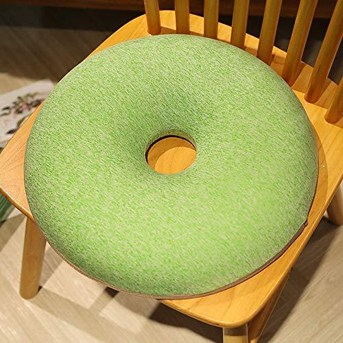 Stuhlkissen Baumwollkissen Stuhlkissen Sitzkissen Value Comfort Home Dickes Booster-Kissen aus 100% Baumwolle Sessel Sagging Sofa Stuhl Sitzerhöhung Enhancer Pad (zweiteiliges Set)