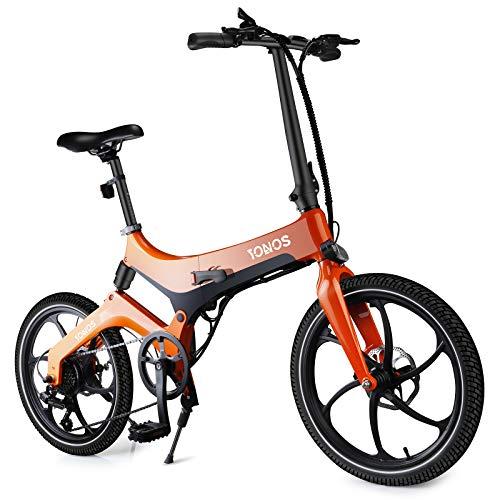 Faltbares Elektrofahrrad E-Bike für Erwachsene, 20\'\' Elektro-Pendlerfahrrad mit 7.5AH Abnehmbarem Lithium-Ionen-Akku, 36V 250W Motor und Intelligent Einstellbarer Geschwindigkeit
