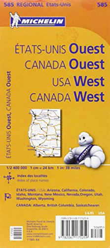 Michelin USA West, Canada West: 585