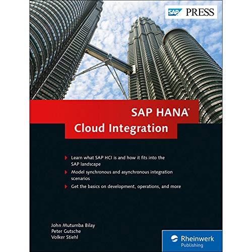 SAP HANA Cloud Integration (SAP PRESS: englisch)