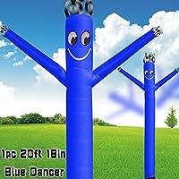 MOUNTO 20ft 18inch Air Puppet Dancer Tube Man Fly Guy Puppet Dancer (Blue) [並行輸入品]