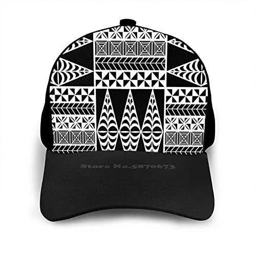OEWFM Gorra de Beisbol Tapa Patterns Hip Hop Flat Mesh Hat...