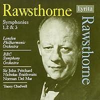 Symphonies 1 2 & 3 by RAWSTHORNE ALAN (2006-11-14)