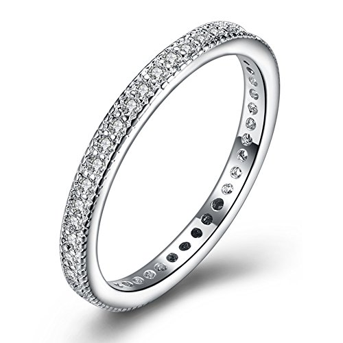 YXYP Eleganter Damen-Ring, Hochzeitsring, Verlobungsring, Modeschmuck