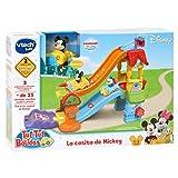 VTech Play Set electrónico interactivo con 'La Casita' y un coche exclusivo de Mickey (80-511822) ,...