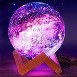 Eguled Moon Lamp, 5.9 inches Galaxy Lamp Night Light 16...