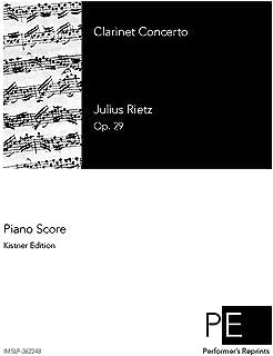 Clarinet Concerto - For Clarinet & Piano