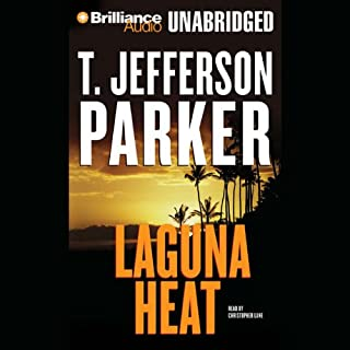 Laguna Heat audiobook cover art