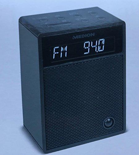 Steckdosenradio Bluetooth Radio UKW 30 Watt Nachtlicht Medion P65702 (SCHWARZ)