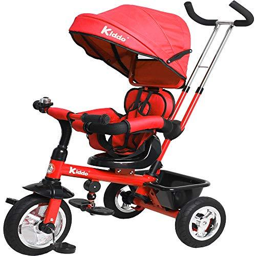 Kiddo RG0221 Dreirad, Rot