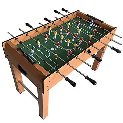 softneco Professionelle Tischkicker Tisch Mit 8 Griff,Tischfußball Spiel Für Kinder Und Erwachsene,Holz Kickertisch Wettbewerb Dimension A