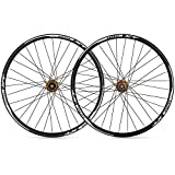 LICHUXIN 26 27,5 29 Pulgadas QR Bicicleta De Montaña Juego De Ruedas Pared Doble Aleación De Aluminio MTB Delantera Trasero Rueda Freno De Disco 8 9 10 11 Velocidad Súper Ligero