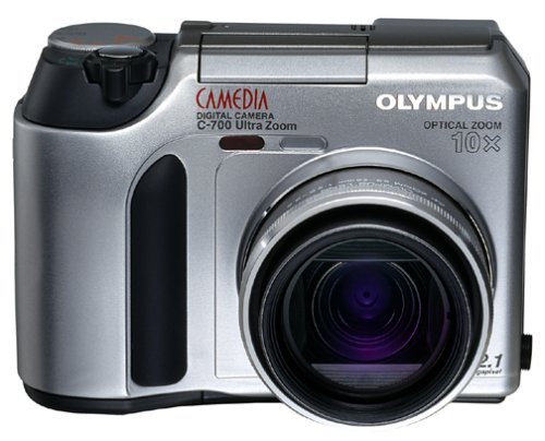 Olympus Camedia C700 2MP Digital Camera w/ 10x Optical Zoom