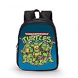 Tourtles Bags Kids Spy Ninja Mochilas escolares Bolsas de almuerzo Estudiante Bolsa de hombro, 2-s,