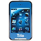 Trio Touch 4 4 GB MP4 Player with 2.8-Inch Touchscreen, Blue