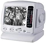 "Best Am Fm Tv Portable Radios - Spectra 52-BWR-W 5"" Portable B&W Television w/ AM/FM Review"
