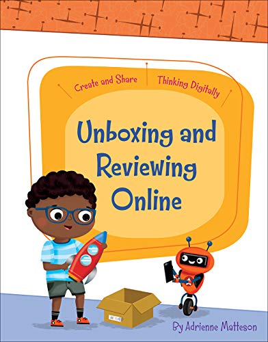 Book's Cover of Unboxing and Reviewing Online (Create and Share: Thinking Digitally) (English Edition) Versión Kindle