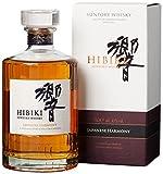 Suntory Whisky Hibiki Japanese Harmony, mit Geschenkverpackung, sanfter langanhaltender Nachgeschmack, 43% Vol, 1 x 0,7l -