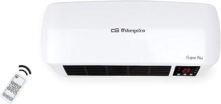 Orbegozo SP 6000 – Calefactor de baño Split programable con mando a distancia, 2000 W, 2 niveles de potencia y modo ventilador