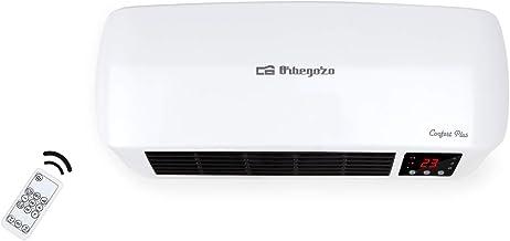 Orbegozo SP 6000 – Calefactor de baño Split programable con mando a distancia, 2000 W, 2 niveles de potencia y modo ventil...