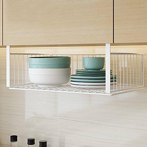 戸棚やテーブルに取り付ければ、空間を余す所なく使えて、収納スペースが広がります。リビングやキッチンのごちゃつきがちな小物も、ひとまとめにしてすっきり!