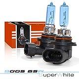 HB3 9005 Halogen Headlight Bulb - NSLUMO 6500K Super Xenon White 65W Car Styling Light Source Headlight Replacemnt (9005 12V 65W)
