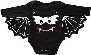 ZEFOTIM Halloween Baby Bodysuits, Toddler Newborn Baby Boys Girls Halloween Cosplay Costume Romper Hat Outfits Set