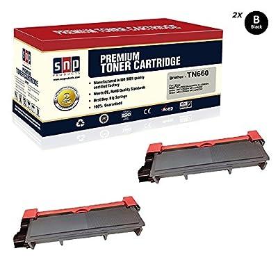SNP Compatible Toner Cartridge Brother TN-630 TN-660 Black Toner, Brother Black TN630 TN660. Compatible with-Brother HL-L2320D HL-L2380DW HL-L2340DW MFC-L2700DW MFC-L2720DW MFC-L2740DW MFC-L2707DW