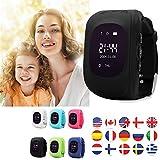 TKSTAR Niños Smart Watch Phone GPS reloj inteligente impermeable GPS/SIM Tracker Kids Reloj de...