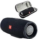 JBL Charge 4 Waterproof Wireless Bluetooth Speaker Bundle with...