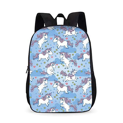 New Animal Primary School Backpack Large-Capacity Comfortable Polyester Schoolbag customization-16_17 inches