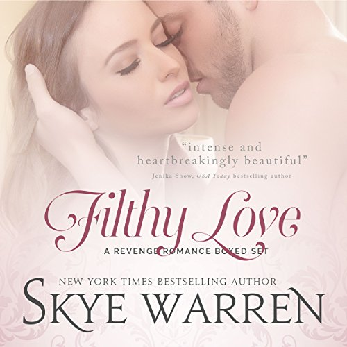 Filthy Love: A Bad Boy Romance Boxed Set audiobook cover art