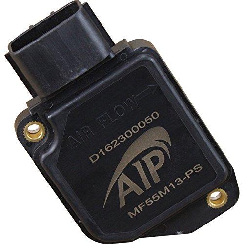 AIP Electronics Pro Spec OE Quality Mass Air Flow Sensor MAF AFM Compatible Replacement For 1996-2003 Suzuki Esteem Aerio and Sidekick Sport 1.6L 1.8L 2.5L AFH55M-13 Oem Fit MF55M13-PS