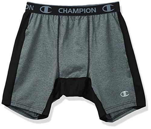 Champion Powerflex Kompressions-Shorts für Herren, 15,2 cm - Grau - XX-Large