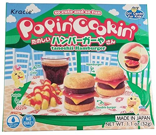 Kracie Popin' Cookin' DIY Candy Hamburger Kit