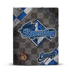 KARACTERMANIA Carpeta A4 Harry Potter Quidditch Ravenclaw gomas 14