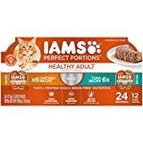 IAMS PERFECT PORTIONS Healthy Adult Grain Free Wet Cat Food...