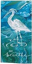 Kay Dee Designs Coastal Tranquility Just Breathe Dual Purpose Terry Kitchen Towel, Multi