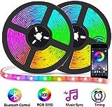 miglior Bluetooth Striscia LED RGB Musicale 10M Autoadesiv