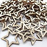 Immagine 2 legno stella abbellimenti a forma