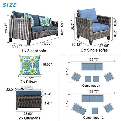 ovios Patio furniture, Outdoor Furniture Sets