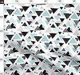 Winter, Geometrisch, Blau, Dreieck, Pfeil, Dreiecke, Jungen