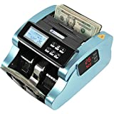 IDLETECH BC-1100 Money Counter Machine with Counterfeit Detection, Automatic Money Counting. Bill Counter. UV/MG/IR/DBL/Half/Chain/DD Detections. Single Value Mode, Add, Batch Modes. Business Grade.