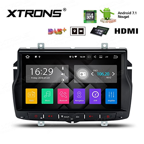 XTRONS Lecteur radio stéréo HDMI Android 7.1 8\
