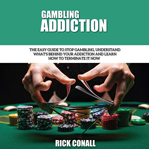 Gambling Addiction audiobook cover art