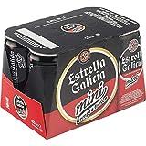 Estrella Galicia Bebida Alcoholica - 6 Paquestes de 250 ml- Total: 1500 ml