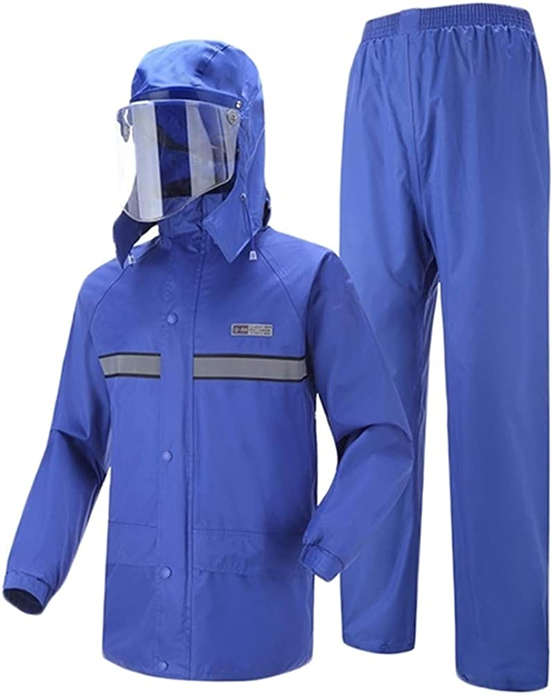 Oncefirst Adults Rain Fashion Suit Workwear Pants Waterproof Jacket with Directly managed store