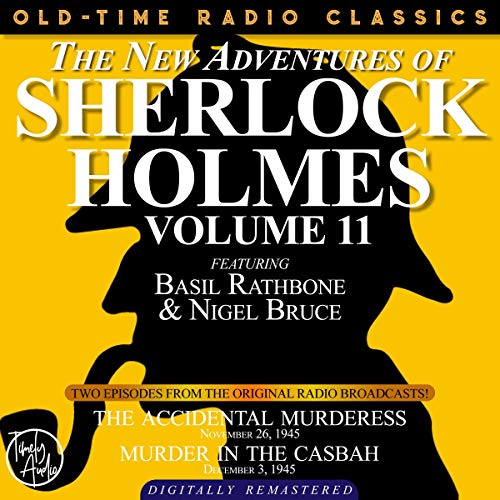 The New Adventures of Sherlock Holmes, Volume 11 cover art